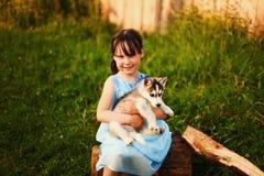 Little girl. Royalty Free Stock Photos