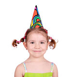 Little girl with hat Royalty Free Stock Image