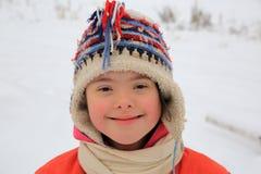 Little girl have fun Stock Photo