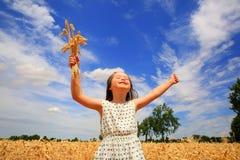 Little girl have fun Stock Photos