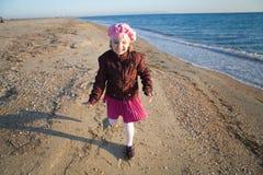Little girl having fun Royalty Free Stock Photos