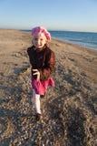 Little girl having fun Royalty Free Stock Photo