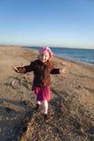 Little girl having fun Royalty Free Stock Image