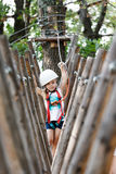 Adventure park fun Royalty Free Stock Photo
