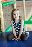 Little girl having fun Stock Photo