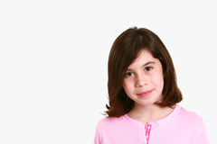 Little girl headshot Royalty Free Stock Photography