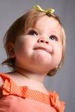Little Girl - Hint of Mischief Stock Photo