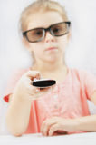 Little girl holding Royalty Free Stock Images
