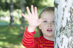 Free Little Girl In The Park Stock Photo - 21064880