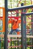 Little girl inplayground Stock Image