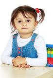 Little girl for interesting occupation. Stock Photography