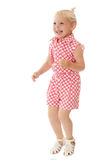 Little girl jumping Stock Photography