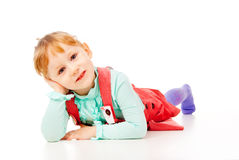 The little girl just posing Royalty Free Stock Photos