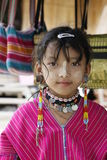 Little girl of karen tribe Stock Photo