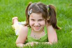 Little Girl Laughing Royalty Free Stock Photo
