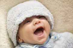 Crazy baby Stock Images