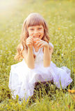 Little girl. Royalty Free Stock Photos