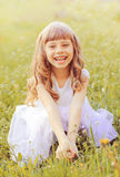 Little girl. Royalty Free Stock Image