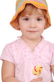Little girl with lollipop Stock Photos