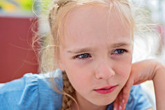 Little girl looking away Royalty Free Stock Image