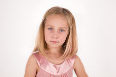 Little girl looking in camera Royalty Free Stock Images