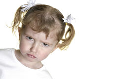 Free Little Girl Making Faces 12 Stock Photos - 1883463