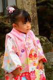 Little girl, Nara, Japan Stock Image