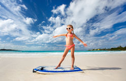 Free Little Girl On Vacation Stock Photo - 37654810