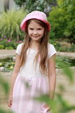 Little girl outdoor Royalty Free Stock Photo