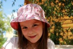 Little girl outdoor Royalty Free Stock Photos