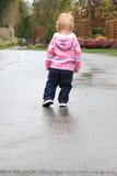 Little girl outside Royalty Free Stock Photo