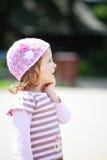 Little girl in the park Stock Image