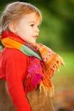Little girl in the park Stock Photos