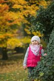 Little girl in the park Royalty Free Stock Photography