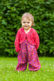 Little girl in the park Royalty Free Stock Images