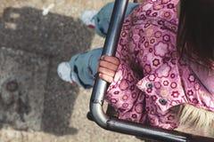 Little Girl in Park Stock Photography