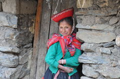 Little girl from Peru Stock Photo