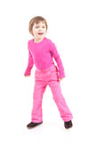 Little girl in pink Royalty Free Stock Photography