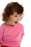 Little girl in pink Royalty Free Stock Images