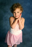 Little Girl in a Pink Tutu Stock Photography