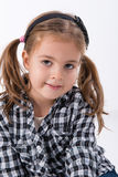 Portrait of little girl Stock Image
