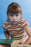 Little girl play. Stock Photography