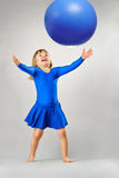 A playing child Stock Images