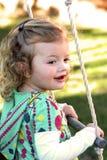 Little Girl Playtime stock photography