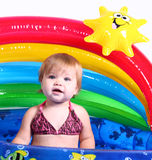 Little Girl - Pool Fun 2 Royalty Free Stock Images