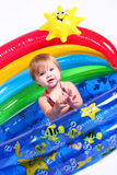 Little Girl - Pool Fun 3 Royalty Free Stock Photography
