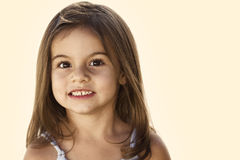 Little Girl Portrait Royalty Free Stock Image