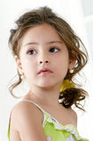 Little girl. Portrait Royalty Free Stock Photos