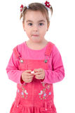 Little Girl Portrait. Royalty Free Stock Photo