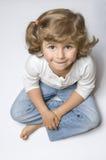 Little girl portrait Stock Photos